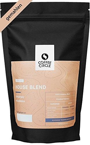 Coffee Circle | Premium Espresso House Blend | 350g gemahlen | Ausgewogener Espresso mit blumiger Note | 100% Arabica Blend | fair & direkt gehandelt | frisch & schonend geröstet