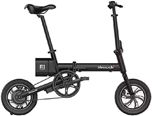 Bicicleta eléctrica de nieve, Bicicletas eléctricas rápidas for adultos bicicleta eléctrica E-Bici 250W Motor eléctrico de la bici con el instrumento LCD del panel frontal y trasero de disco Batería d
