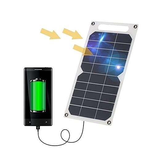 uerdand 1pcs Panel Solar 5v 50w Kit de energía Solar batería al Aire Libre Cargadores de teléfono Celular portátil células solares de células solares (Color : 50W)