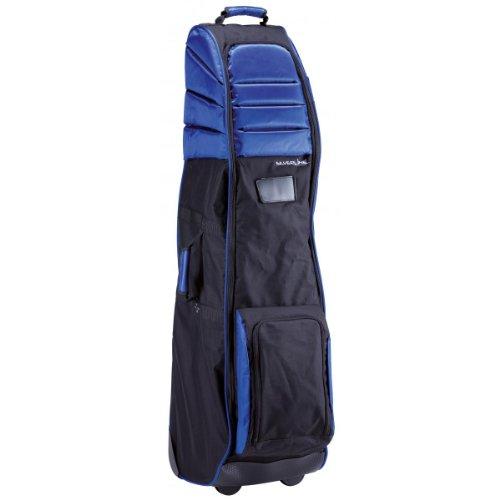 INLINE Travel-Cover / Reisebag für Flug - mit gepolstertem Kopfteil und orig. Inline-Skate-Rollen - schwarz/blau
