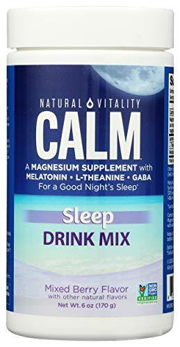 natural sleeps Natural Vitality Natural Calm Specifics CALMFUL SLEEP (Mixed Berry Flavor) 6 ounces
