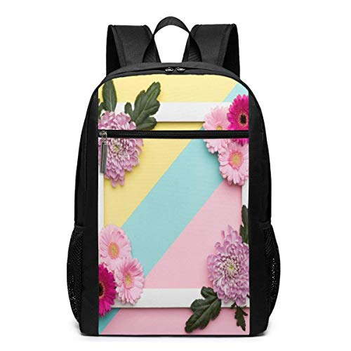 zhanghaichangT Valentine'S Day Or Birthday Pastel Candy Colours Carry On Backpack Shoulder Back Pack Bag for Womens Mens Youth 17'