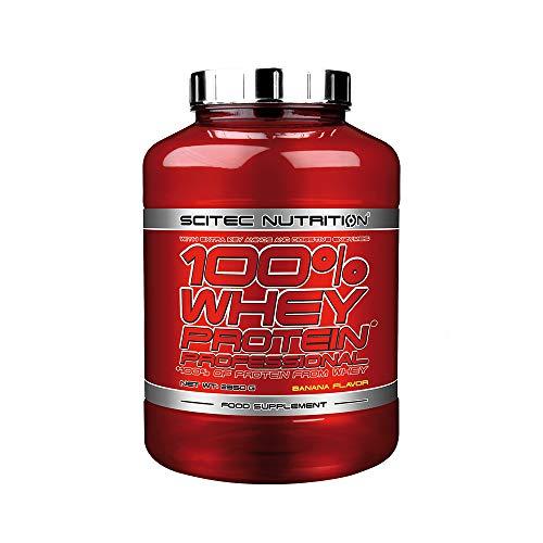 Scitec Nutrition 100% Whey Protein Professional 2350g 1 confezione di proteine del siero di latte in polvere in polvere (Vanilla)