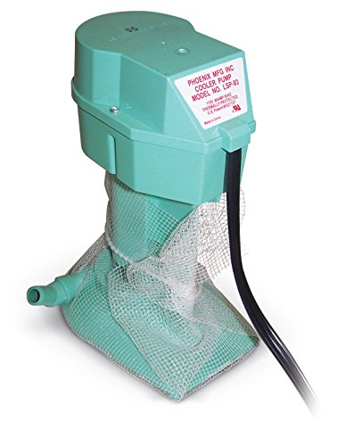 Phoenix Manufacturing 05-006-0034 120V Cooler Recirculation Pump for Residential Evaporative Coolers