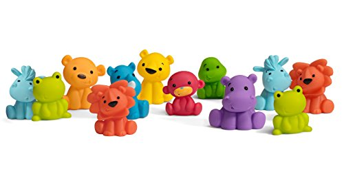 Infantino 12 Piece Tub O' Toys
