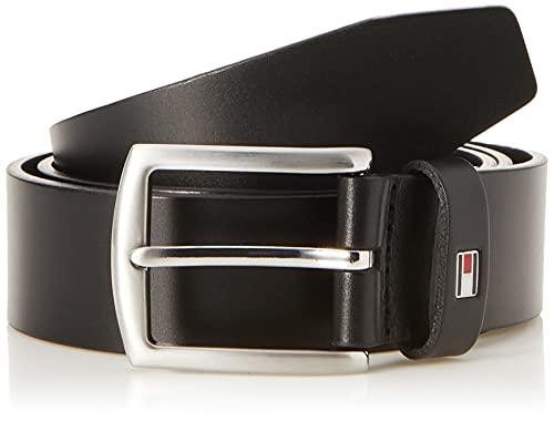 Tommy Hilfiger New Denton 3.5 Belt, Cintura Uomo, Nero, 110 cm
