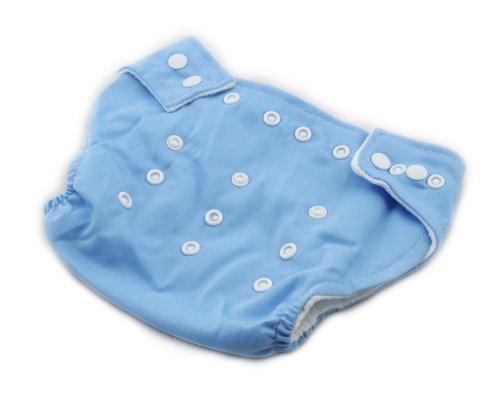 Baby Stoffwindel Windel Überhose Größe verstellbar Windelhose Einstellbare Größe 3-13kg Blau