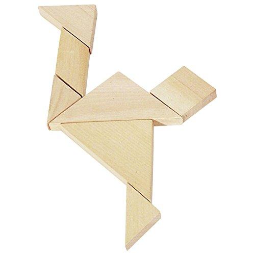 Goki HS008 - puzzel - tangram