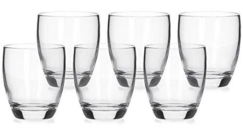 helder glas Tumbler glas 330ml water whisky whisky geesten sap, Set van 6
