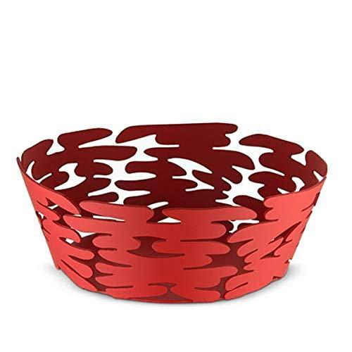 Alessi Barket Panier rond Ø 18 cm Rouge