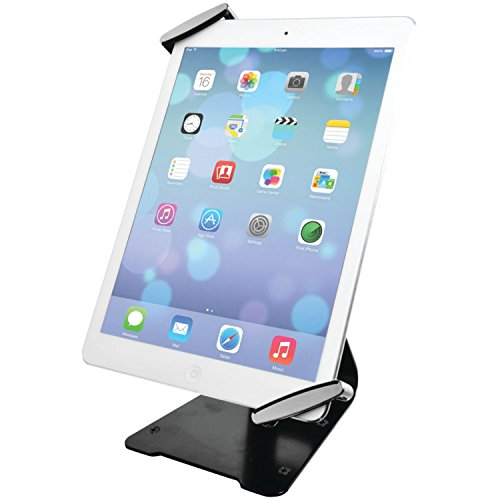 Tablet Stand, CTA Digital Universal Anti-Theft Security Grip with POS Stand for 7-11' Tablets/iPad 10.2-Inch (7th Gen.), 11-Inch iPad Pro, iPad Air 2, iPad Mini 5, Galaxy Tab, Note 10.1 & More