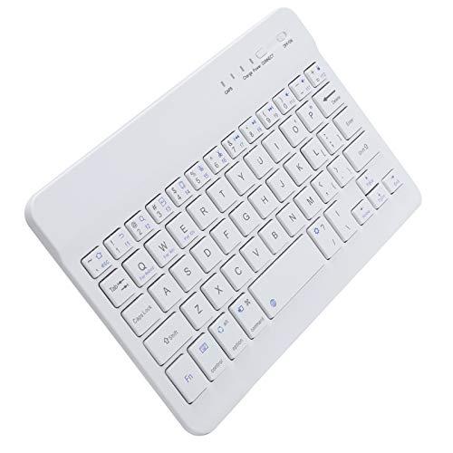 Teclado de 59 Teclas, Mini Teclado portátil con Cable de Carga para Tableta para computadora