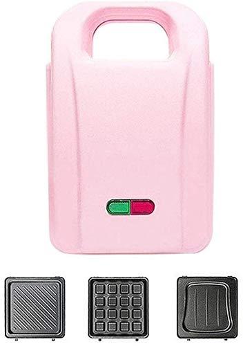 GCE Mini gaufrier Portable avec Plaque chauffante électrique Domestique Ronde avec indicateur Lumineux pour crêpes Individuelles - Chauffage antiadhésif Automatique