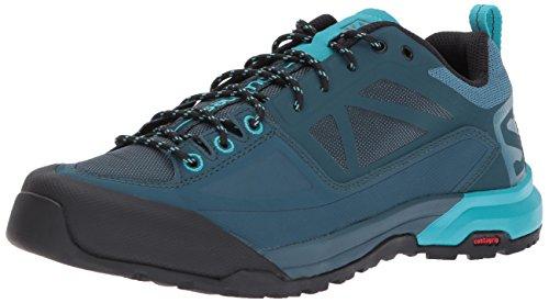 Salomon X ALP SPRY W, Zapatillas de Senderismo para Mujer, Azul (Mallard Blue/Reflecting Pond/Bluebird 000), 39 1/3 EU