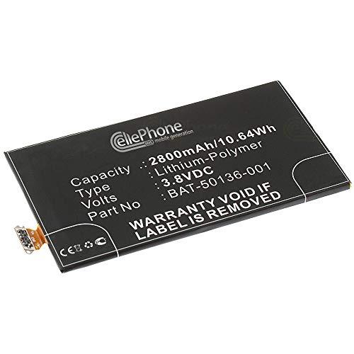 cellePhone Batteria Li-Polymer Compatibile con Blackberry Z30 (sostituita BAT-50136-001)