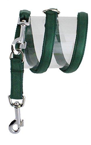 Koch U4401512 Nylon-Leine UNI 3fach verstellbar gepolstert, S, grün