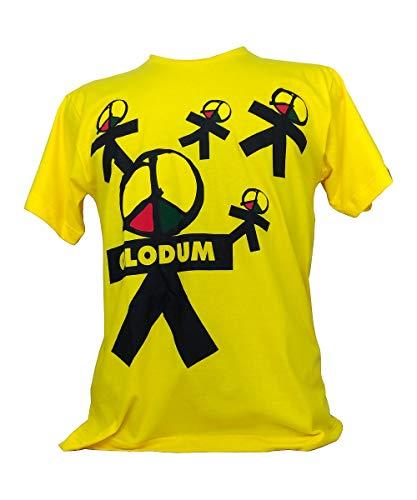 Camiseta Olodum Boneco Bumbo Gola Redonda