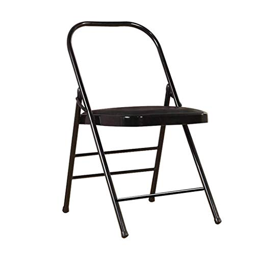 Best Review Of JIAJIA Yoga Headstand Yoga Auxiliary Folding Chair, PU Face Yoga Inverted Stool, Thic...