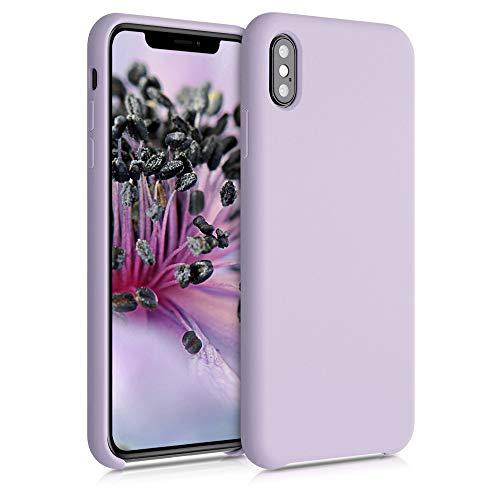 kwmobile Cover per Apple iPhone XS Max - Cover Custodia in Silicone TPU - Back Case Protezione Cellulare Zucchero Filato