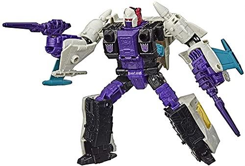 YOYOL Transformers Kingdom Transformers Juguetes Generaciones Guerra para Cybertron Red Alert Act Figure - Capítulo de asedio - Adultos y niños de 8 años Figura de acción de Optimus Prime
