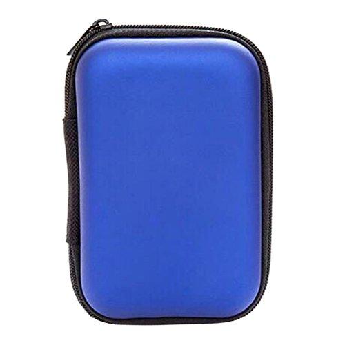 Zehui Portable Hard Disk Drive Shockproof Zipper Cubierta