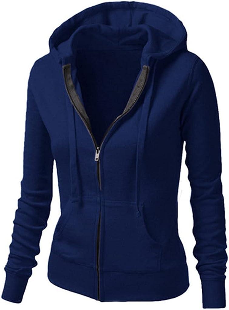 Qawadu Women's Pullover Hoodies Casual Long Sleeve Hoodie Sweats