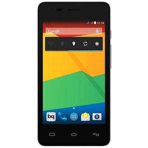 BQ Aquaris E4 - Smartphone libre Android (pantalla 4 pulgadas, cámara 8 Mp, 8 GB, Quad-Core 1.3 GHz, 1 GB RAM, Android 4.4 KitKat), negro