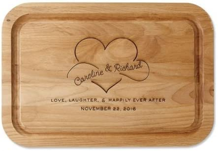 Personalized Happily Ever After Red Sale price Alder L Cutting Board Wood New product!! -