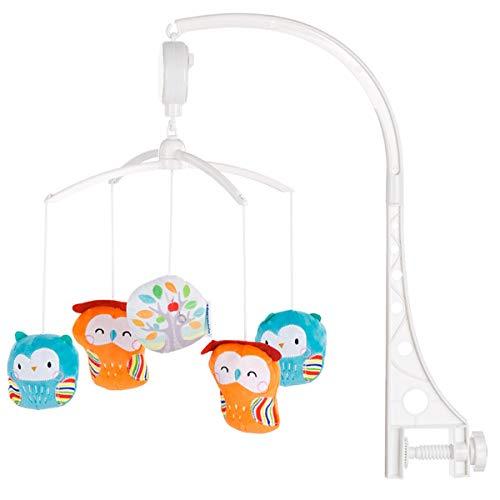 COLOR Mobile universel musical pour lit bébé Owls home