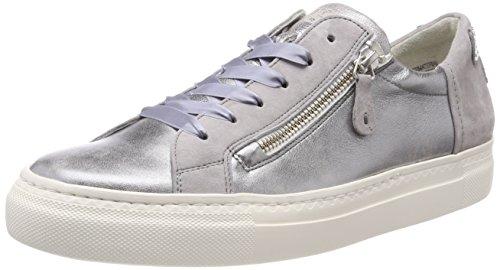 Paul Green Damen Vintage Nappa/Sz Sneaker, Mehrfarbig (Silver/Cloud 22), 39 EU