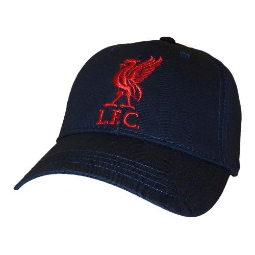 Liverpool F.C. - Gorra de béisbol, diseño de Equipo Liverpool, Color Azul