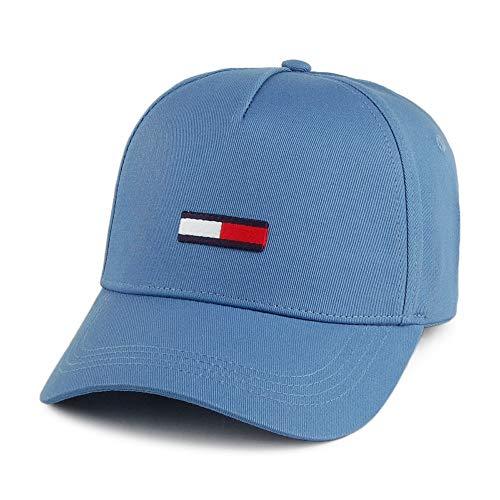 Tommy Jeans Herren TJM Flag Baseball Cap, Blau (Federal Blue 499), One Size (Herstellergröße:OS)