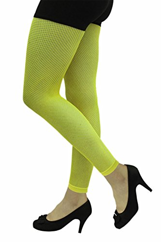 Ladies Fence Net Full Tights Fishnet Cut Elastic Party Fancy Dress Costumes UK M