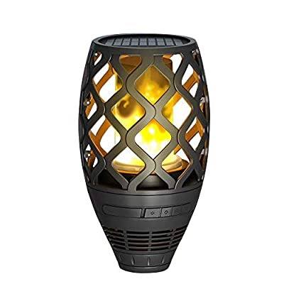 Amazon - Save 15%: Maxslove Solar LED Lights with Bluetooth Speaker for Indoor and Outdoor in H…