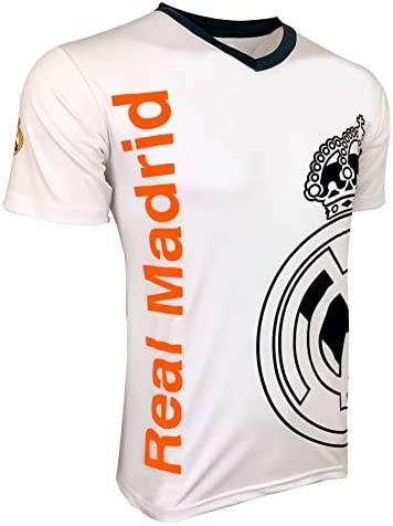 Real Madrid Shirt for Adults and Kids Licensed Real M T Shirt XXX Small Youth Medium 7 9 Years product image