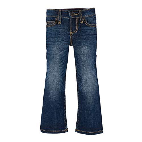 Wrangler Girls' Retro Stretch Boot Cut Jean, Medium Blue, 10