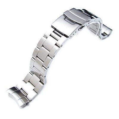 Strapcode Uhrenarmband 20mm Super Oyster Uhrenarmband für Seiko Sumo SBDC001, SBDC003, SBDC005, SBDC031, SBDC033