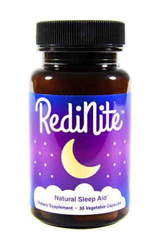 RediNite - Clinically-Proven Natural Sleep Aid Supplement - Non-GMO, Vegan, Gluten-Free