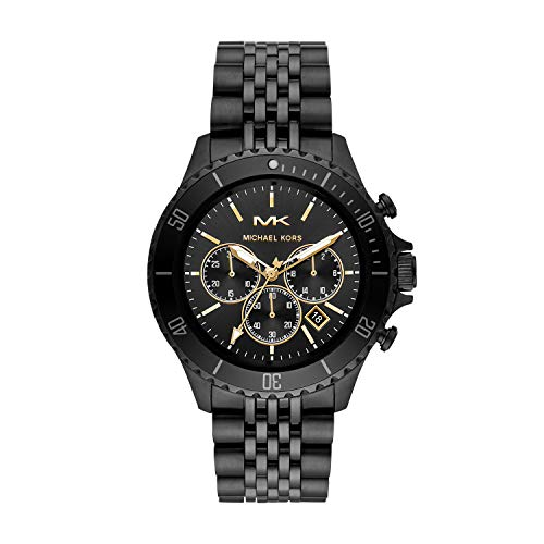 Michael Kors Analog Black Dial Men's Watch-MK8750