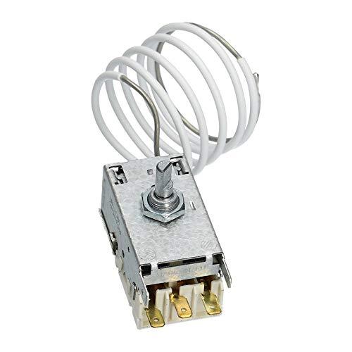 LUTH Premium Profi Parts - Termostato per frigorifero | Compatibile con Ranco K59L1287 Liebherr 615101086 Miele 1513060 AEG 899671069599 Juno