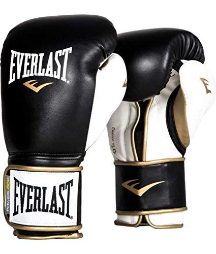 Everlast Boxing Gloves Powerlock Black/White 12oz