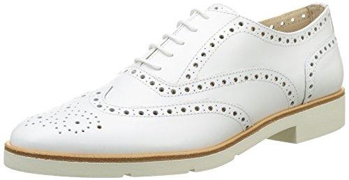 Jb Martin Falba, Zapatos de Cordones Oxford Mujer, Blanco Veau Bali White, 36 EU