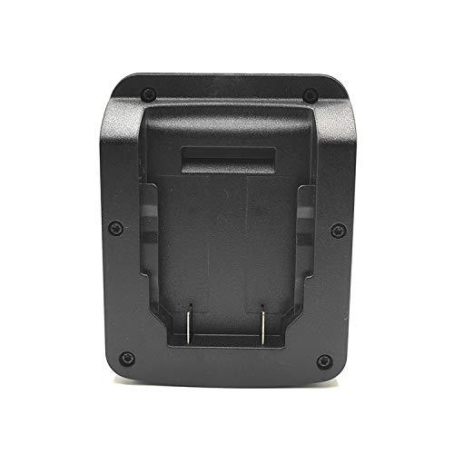 aikeec Adaptador de batería para batería de litio Dewalt 18V 20V Max DCB Series Convert a Makita 18V, Compatible con herramienta eléctrica Makita BL Series