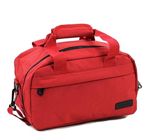 Members - Essential on-board segundo compatible con ryanair equipaje de mano, red (rojo) - sb-0043
