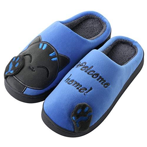 Katara - Zapatillas de Felpa para Gatos *Gran selección* Zapatillas...