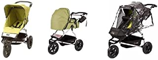 Mountain Buggy Urban Jungle Stroller WITH Carrycot and Storm Cover (Moss Dot)