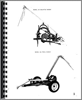 Parts Manual New Holland 451 456 Sickle Bar Mower