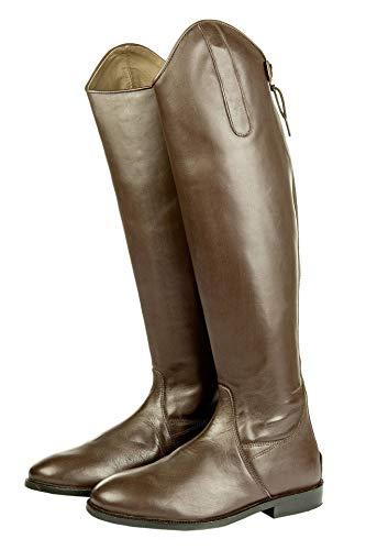 HKM HKM Erwachsene 6544 Reitstiefel Italy, Lederreitstiefel, Standardlänge/Weite, Unisex 36-44 Hose, 2400 braun, 36