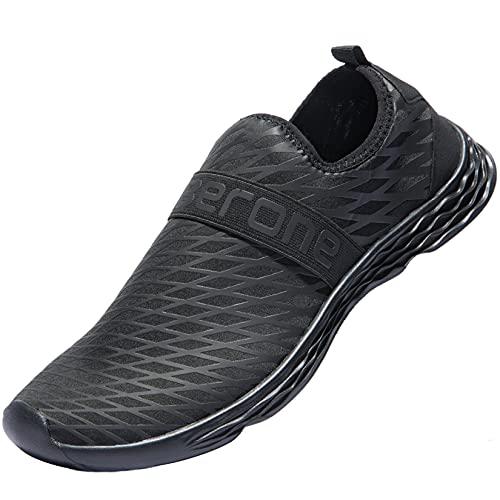 Zapatos para Correr de Agua para Hombre Zapatos de Piel para Deportes Descalzos Calcetines Aqua para Nadar en la Playa Surf Surf Ejercicio Antideslizante Ligero Secado rápido