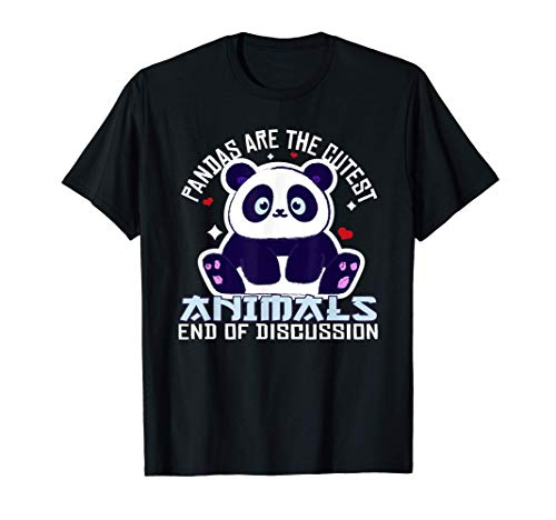 Lindo Panda Kawaii Oso Panda Bebé Panda Disfraz Regalo Camiseta